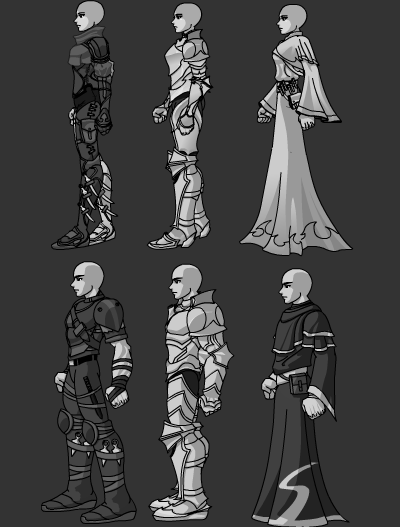 DragonFable Armors