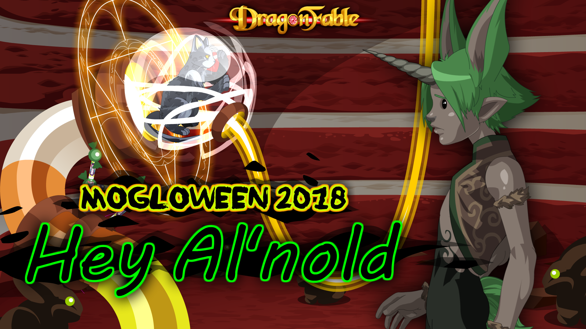 DragonFable - Design Notes: October 2018