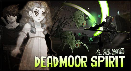 AdventureQuest Worlds Dreadmoor Spirit Cysero