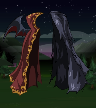DragonFable Blood Patrol Capes