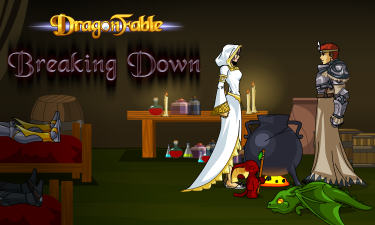 DragonFable Anniversary Breaking Down