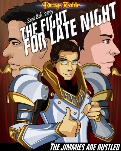 DragonFable Fight for Late Night Colbert Fallon Kimmel