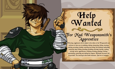 DragonFable Cysero Apprentice