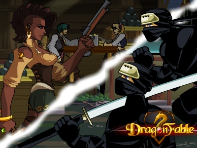 DragonFable Mazurek Ravenloss Tomix
