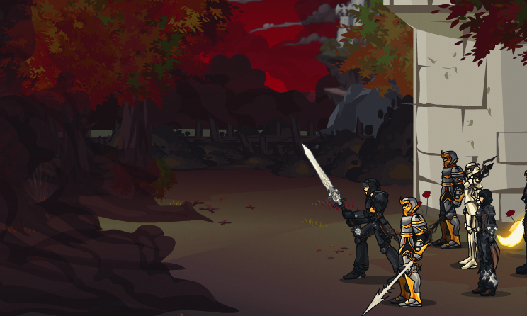 DragonFable Dark Night on Friday the 13th