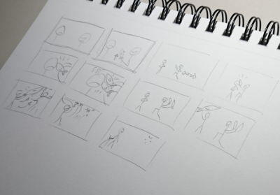 DragonFable FwendQuest storyboard